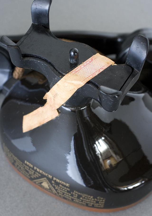BEAM:ビーム社の「電話機型ボトル容器」未開栓バーボンウイスキー-09