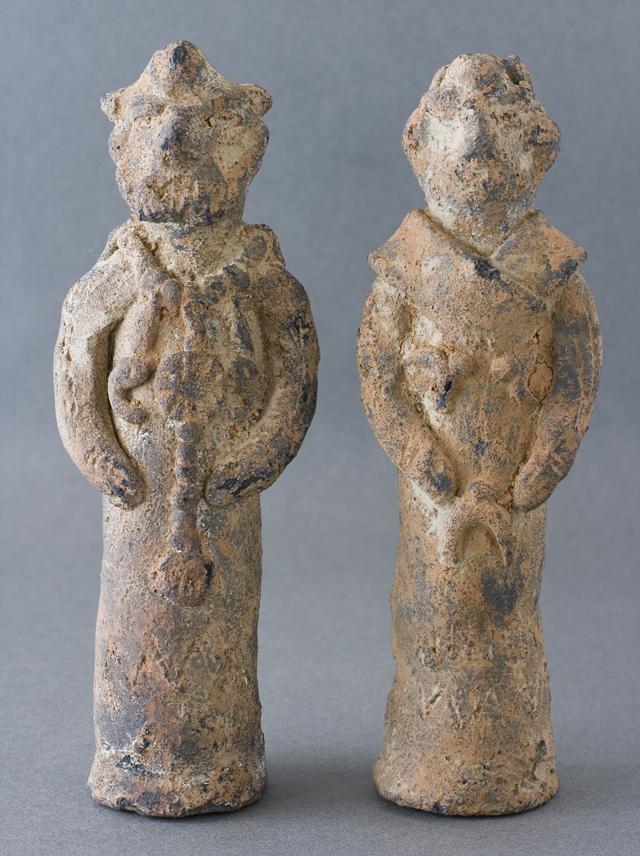 土偶や石器等の出土品-05