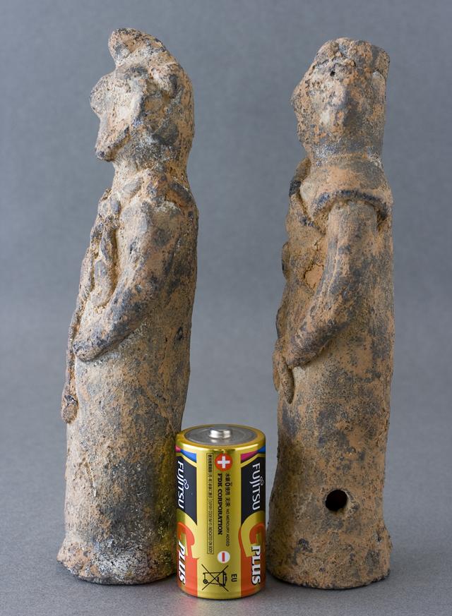 土偶や石器等の出土品-06