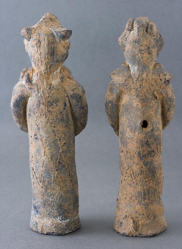 土偶や石器等の出土品-07