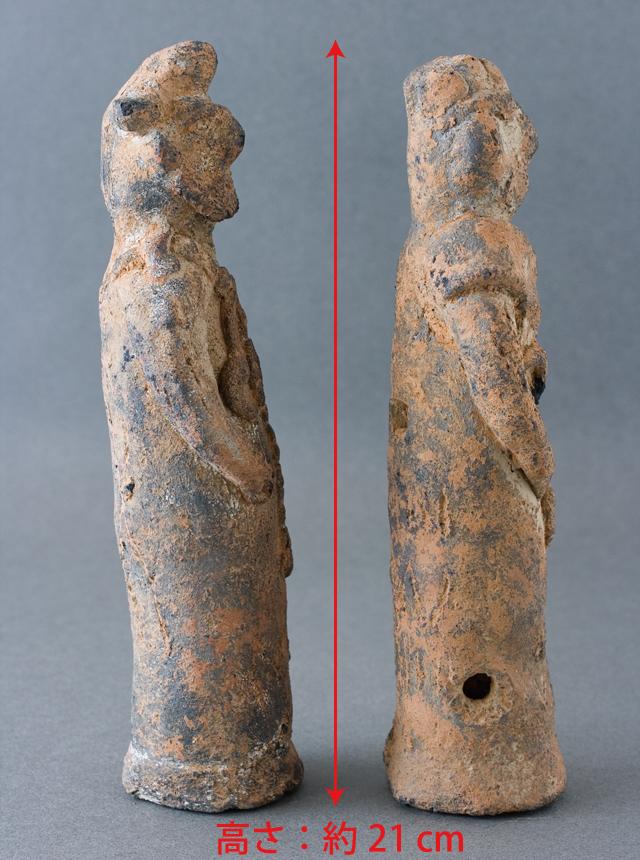 土偶や石器等の出土品-08a
