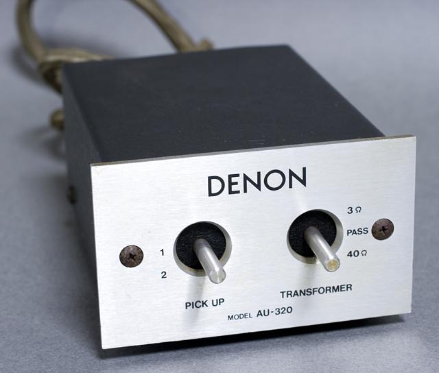 DENON:デノンのMCカートリッジ用昇圧トランス「AU-320」-01