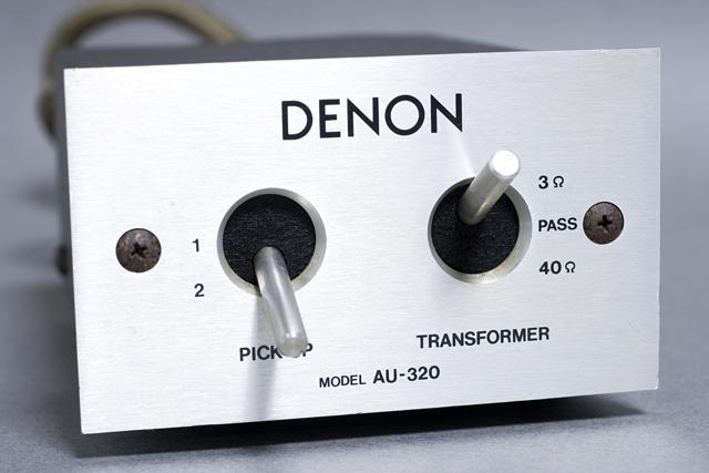 DENON:デノンのMCカートリッジ用昇圧トランス「AU-320」-03