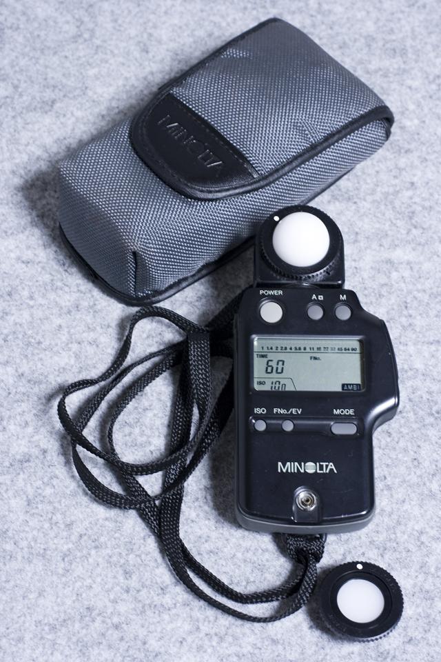 MINOLTA:ミノルタの露出計「AUTO METER IV F:オートメーター」-01