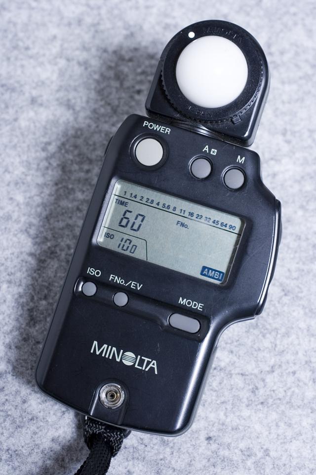 MINOLTA:ミノルタの露出計「AUTO METER IV F:オートメーター」-02