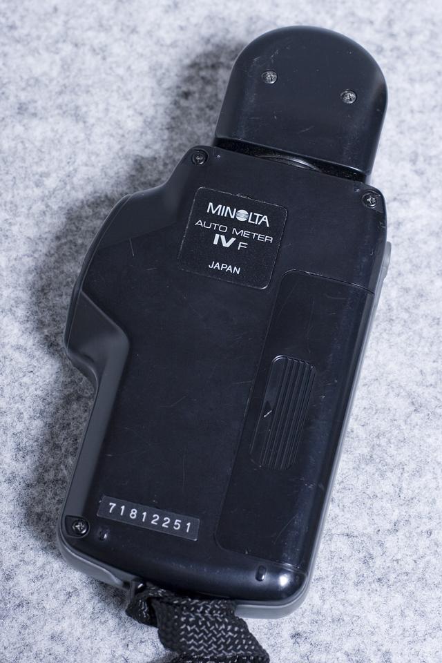 MINOLTA:ミノルタの露出計「AUTO METER IV F:オートメーター」-04