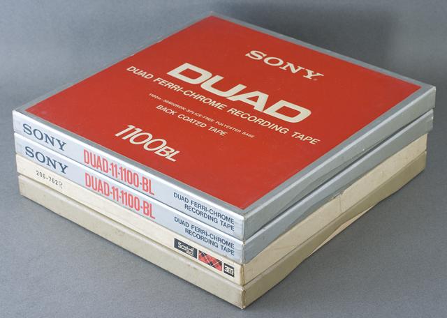 オープンリールテープ「SONY:ソニー DUAD 100BL」-01