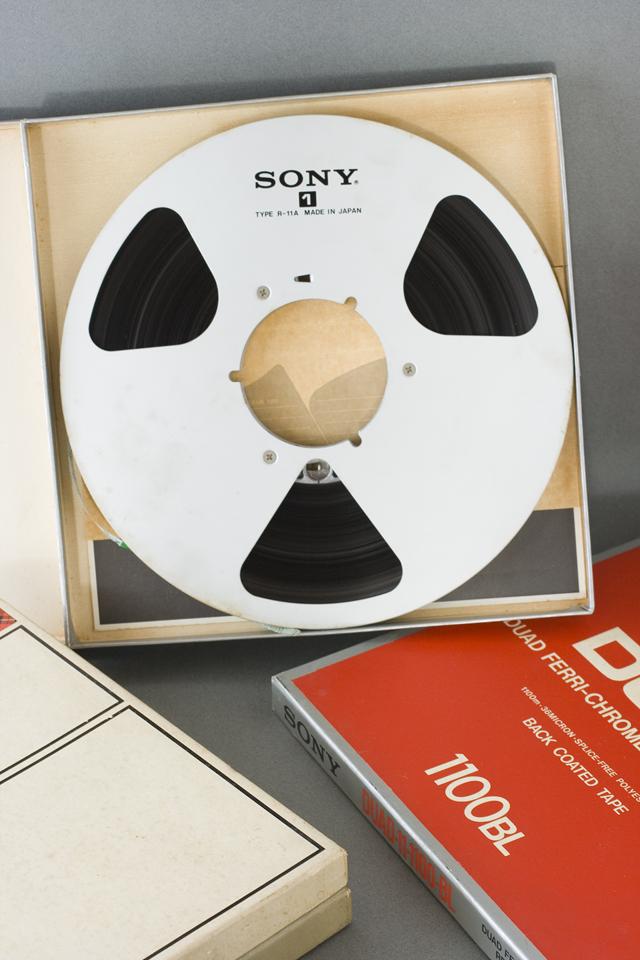 オープンリールテープ「SONY:ソニー DUAD 100BL」-02