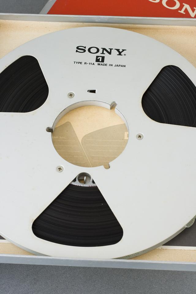 オープンリールテープ「SONY:ソニー DUAD 100BL」-03