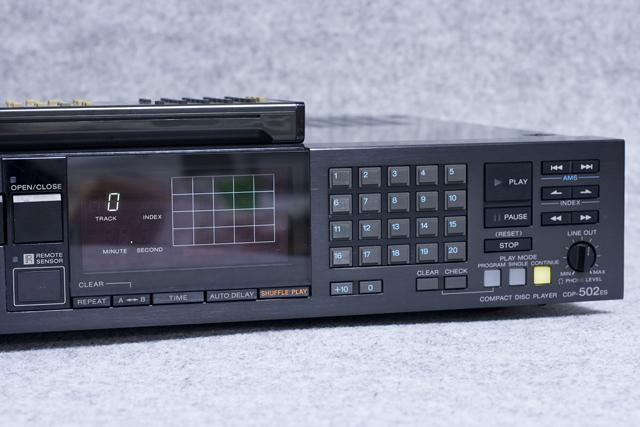 SONY:ソニーのCDプレーヤー「CDP-502ES」-03