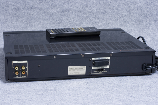 SONY:ソニーのCDプレーヤー「CDP-502ES」-05