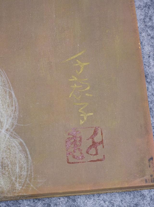 日本画家|皆川千恵子の「白い花」-07