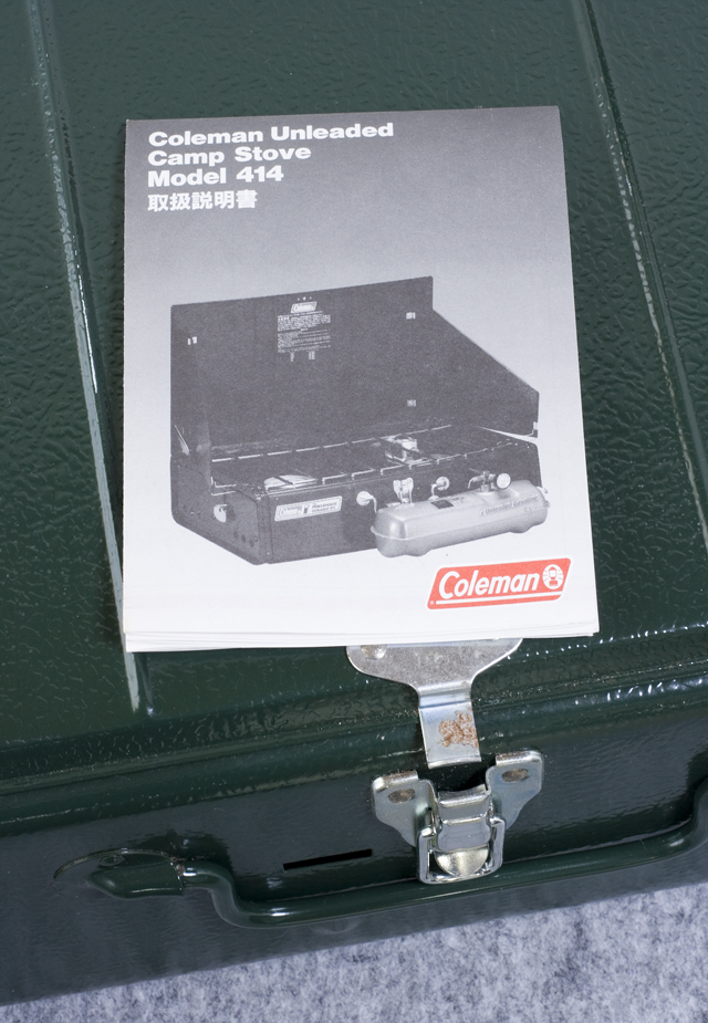 Coleman:コールマンの2バーナーCamp Stove:キャンプストーブ「The POWERHOUSE Unleaded 414」-10