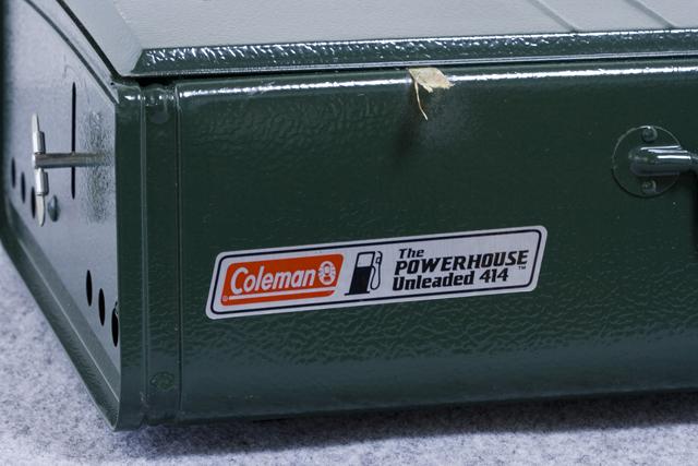 Coleman:コールマンの2バーナーCamp Stove:キャンプストーブ「The POWERHOUSE Unleaded 414」-12