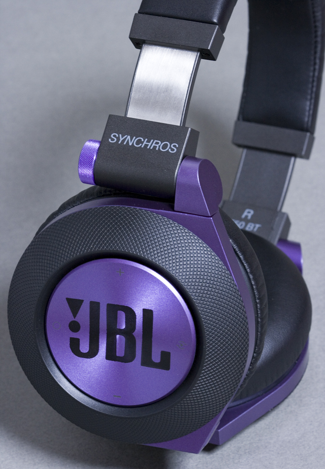 JBLのBluetoothワイヤレスヘッドホン「SYNCHROS E50BT:シンクロス」-11