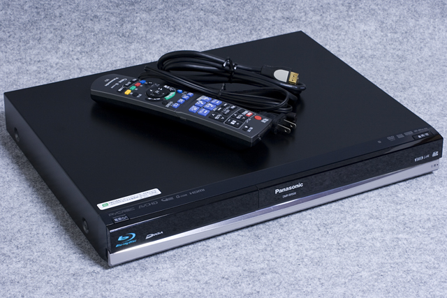 Panasonic:パナソニックのHDD搭載ハイビジョンブルーレイディスクレコーダー 「DMR-BR500」-01