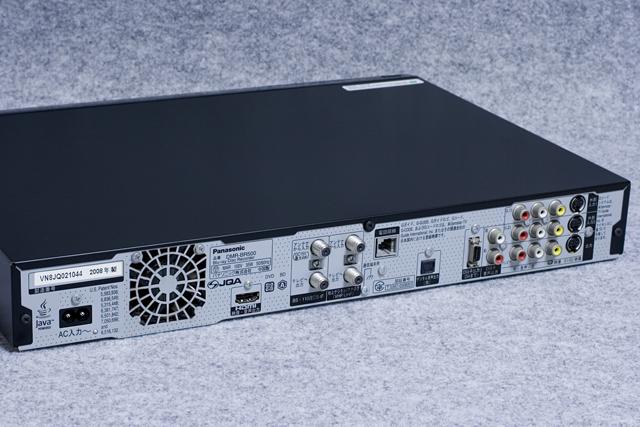 Panasonic:パナソニックのHDD搭載ハイビジョンブルーレイディスクレコーダー 「DMR-BR500」-07