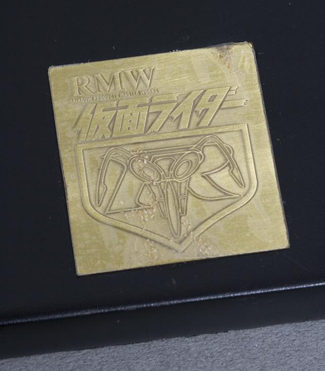 レインボー造形企画謹製の中古フィギュア「RMW仮面ライダー旧1号&旧サイクロン号」-18