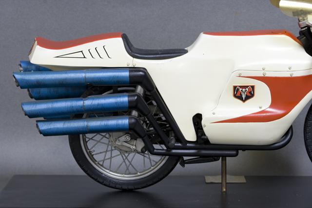 レインボー造形企画謹製の中古フィギュア「RMW仮面ライダー旧1号&旧サイクロン号」-22