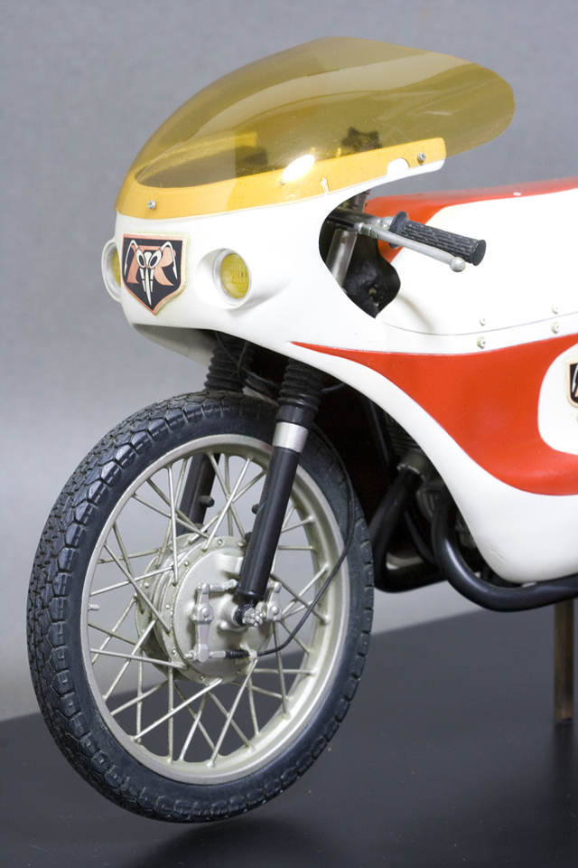 レインボー造形企画謹製の中古フィギュア「RMW仮面ライダー旧1号&旧サイクロン号」-26