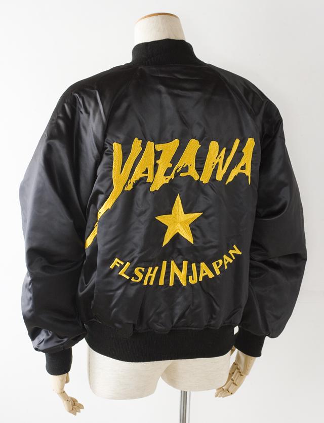 E.YAZAWA:矢沢永吉の「FLASH IN JAPAN」背面刺繍入ブルゾン-01