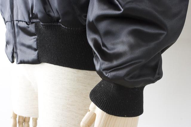 E.YAZAWA:矢沢永吉の「FLASH IN JAPAN」背面刺繍入ブルゾン-05
