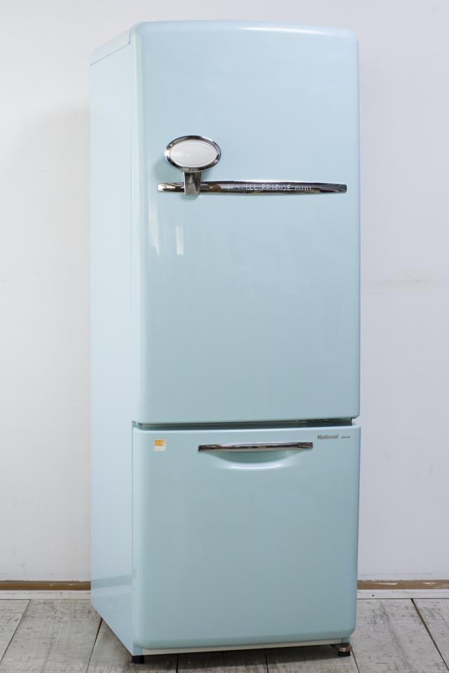 National:ナショナルの「Will:ウィルシリーズ」2ドア冷蔵庫「NR-B162R-AT」ターコイズブルー-01