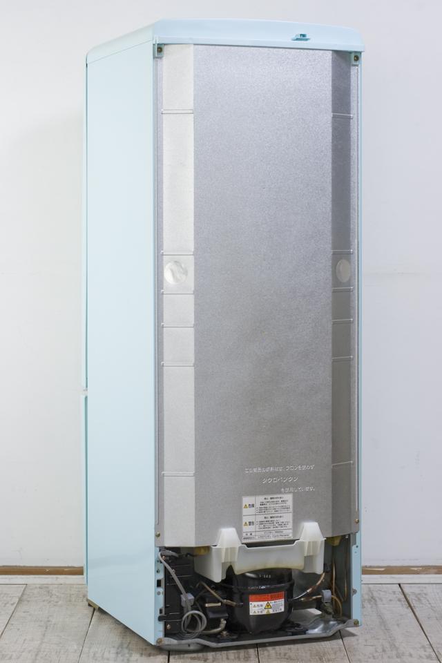 National:ナショナルの「Will:ウィルシリーズ」2ドア冷蔵庫「NR-B162R-AT」ターコイズブルー-03