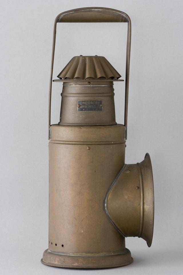 アンティークな「NIPPON SENTO CO LTD:日本船燈株式會社」の船舶照明器具-05