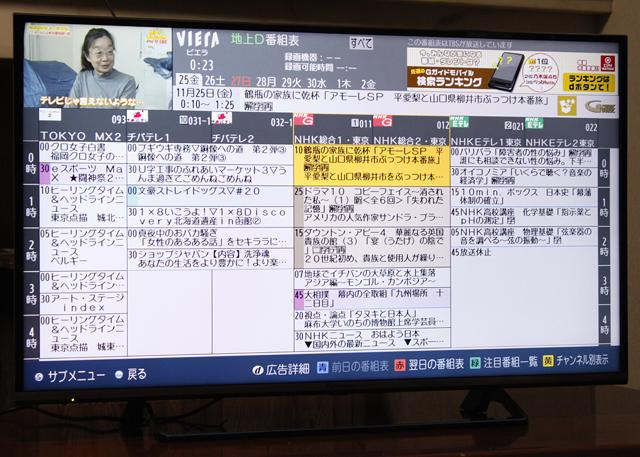 Panasonic:パナソニックの40V型液晶テレビ:TV、VIERA:ビエラ「TH-40CX700」-03