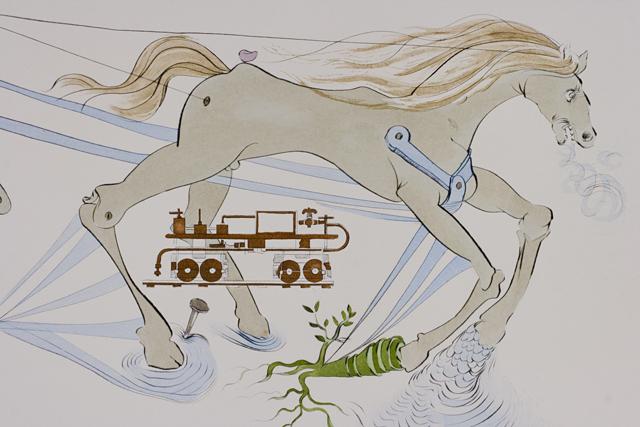 「Salvador Dali:サルバドール・ダリ」のリトグラフ-05