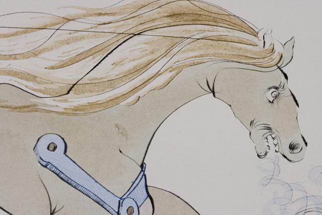 「Salvador Dali:サルバドール・ダリ」のリトグラフ-06