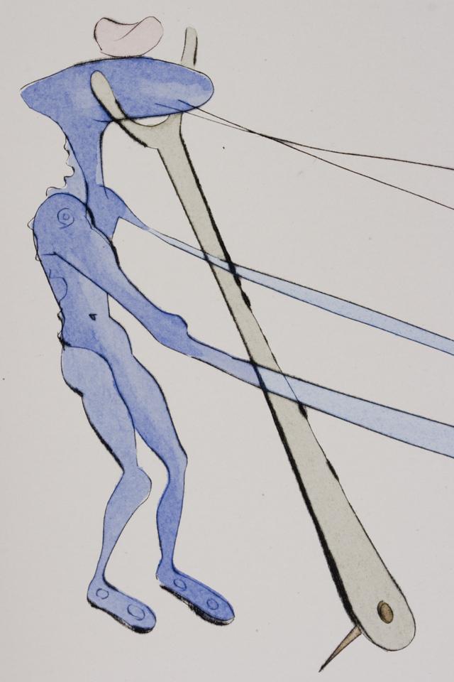 「Salvador Dali:サルバドール・ダリ」のリトグラフ-07