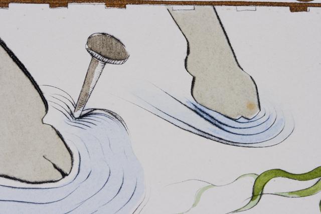 「Salvador Dali:サルバドール・ダリ」のリトグラフ-09