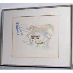 「Salvador Dali:サルバドール・ダリ」のリトグラフ