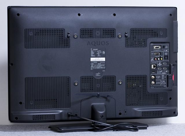 SHARP:シャープの32V型液晶テレビ:TV、LED AQUOS:アクオス「LC-32V7」-09