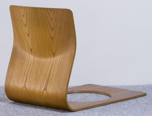 Tendo:天童木工の座イス「ケヤキ板目|S-5046KY-NT」-02
