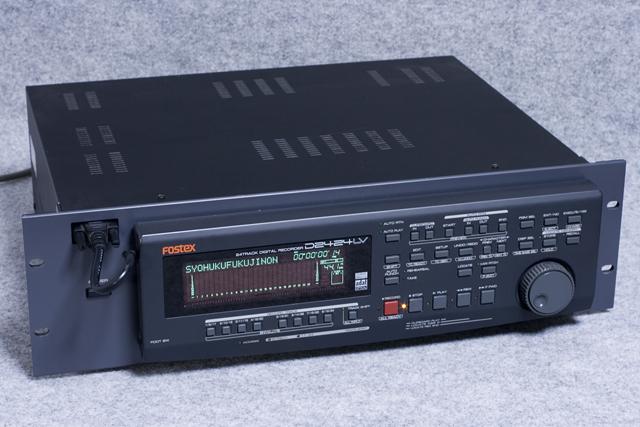 FOSTEX:フォステクスのデジタルマルチトラックレコーダー「D2424LV」-01