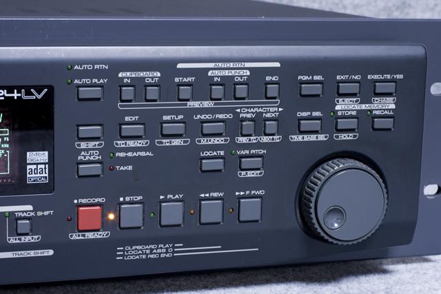 FOSTEX:フォステクスのデジタルマルチトラックレコーダー「D2424LV」-03