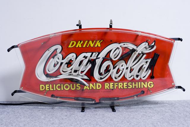 Penny Japan:ペニージャパンの「Coca-Cola:コカ・コーラ」ネオン管サイン看板-03