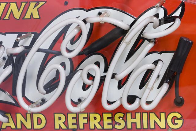 Penny Japan:ペニージャパンの「Coca-Cola:コカ・コーラ」ネオン管サイン看板-04