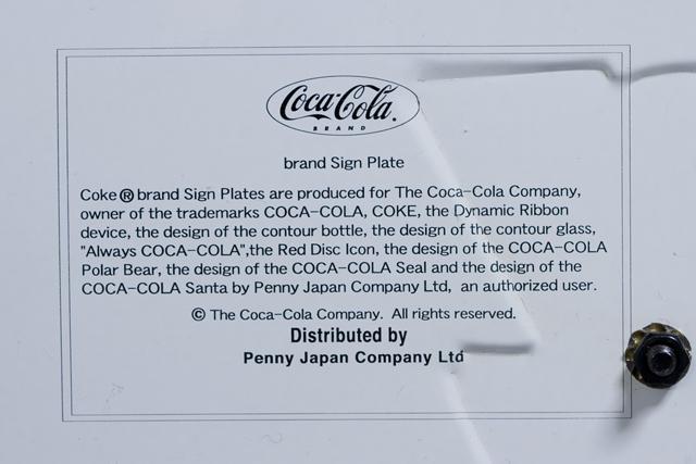 Penny Japan:ペニージャパンの「Coca-Cola:コカ・コーラ」ネオン管サイン看板-10