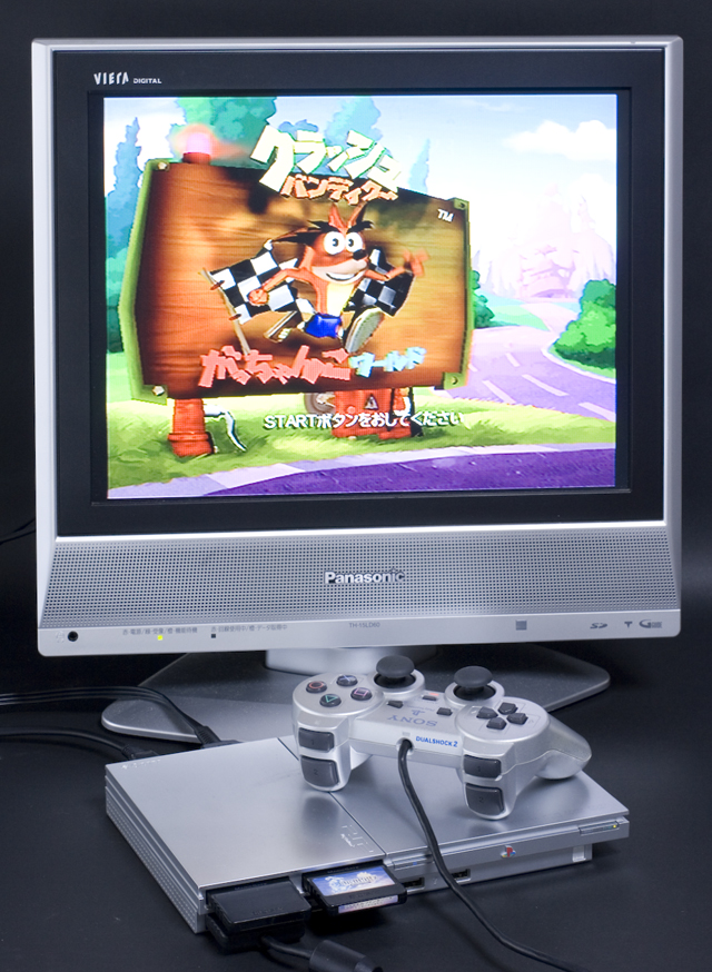 SONY:ソニーのPS2:プレイステーション2「SCPH-90000」-02