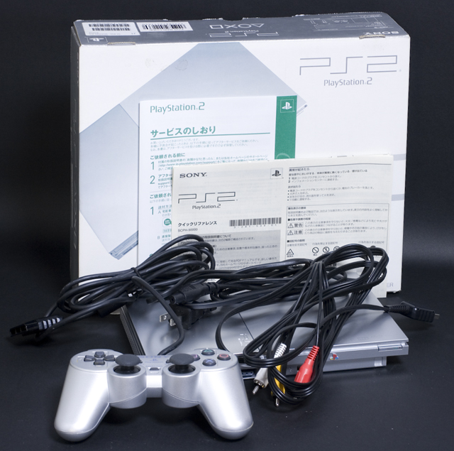 SONY:ソニーのPS2:プレイステーション2「SCPH-90000SS」-01