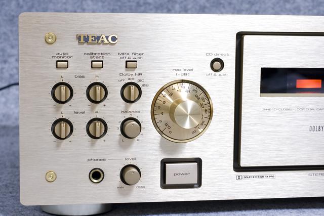 TEAC:ティアックのカセットデッキ「V-6030S」-02