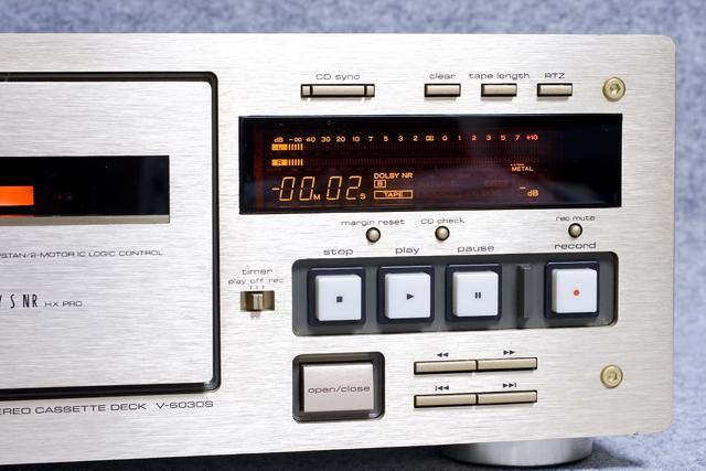 TEAC:ティアックのカセットデッキ「V-6030S」-04