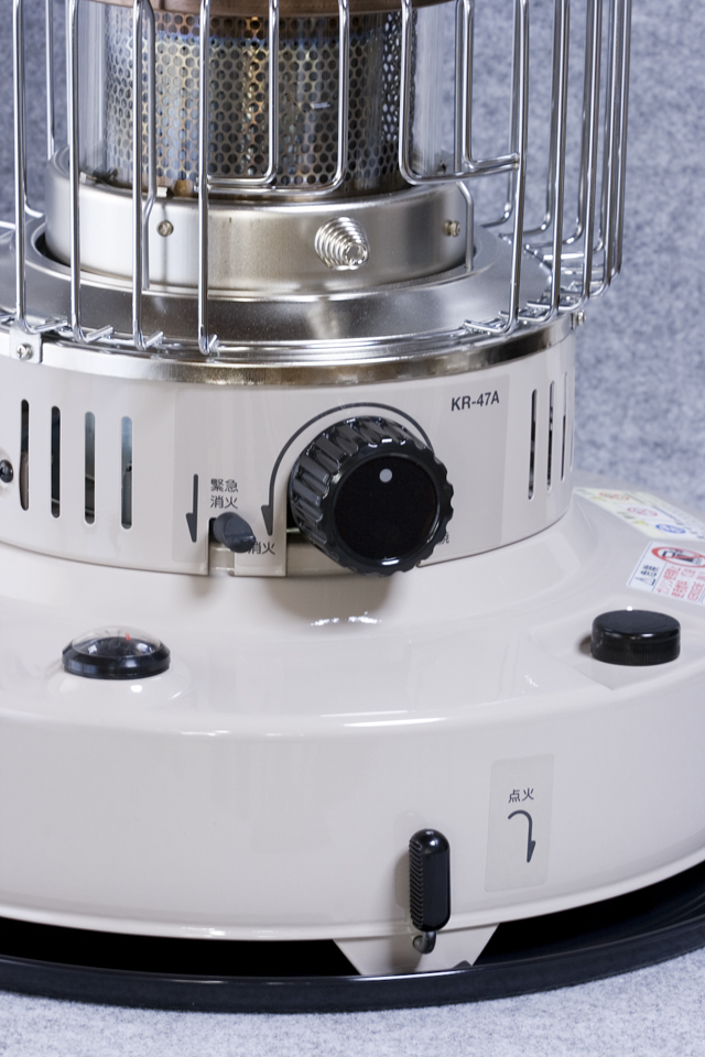 TOYOTOMI:トヨトミの石油ストーブ「KR-47A」-04