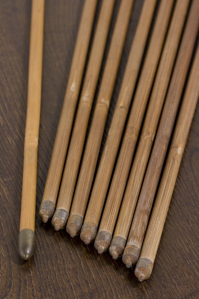 銘入り弓道具「竹矢|羽根矢」-07