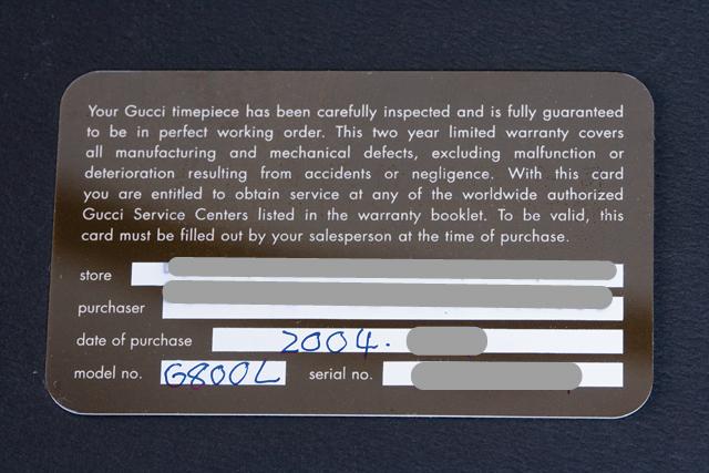 GUCCI:グッチのレディース腕時計「6800L|バンブーバングル」-10a