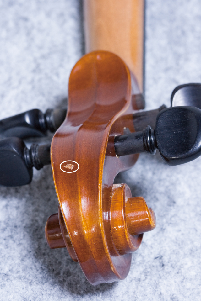 「J.H.MULLER:ミューラー」のドイツ製バイオリンセット-08a